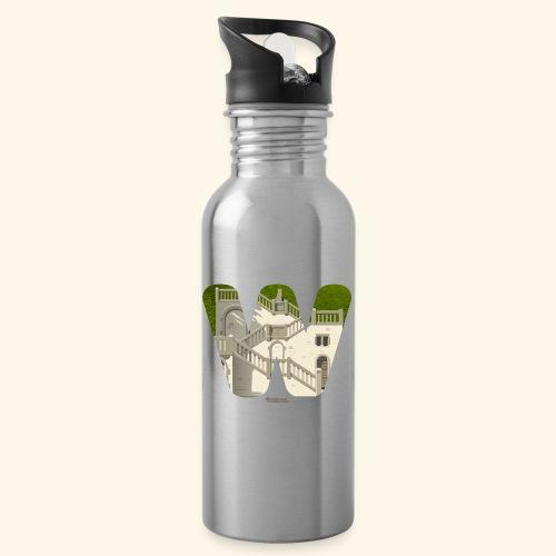 Vogelsauer Treppe - Trinkflasche mit integriertem Trinkhalm