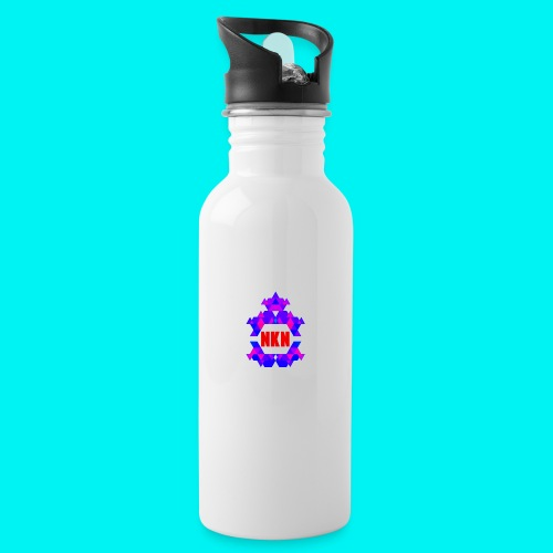 Nebuchadnezzar the ping - Water bottle with straw