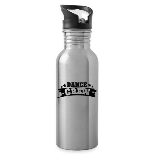 Tshit_Dance_Crew by Lattapon - Drikkeflaske med integreret sugerør