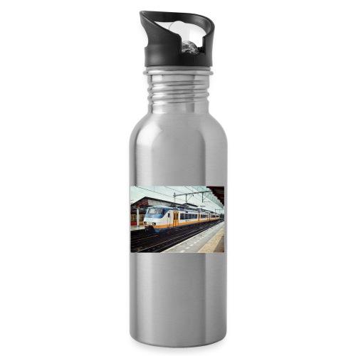 Sprinter in Almere Parkwijk - Drinkfles met geïntegreerd rietje