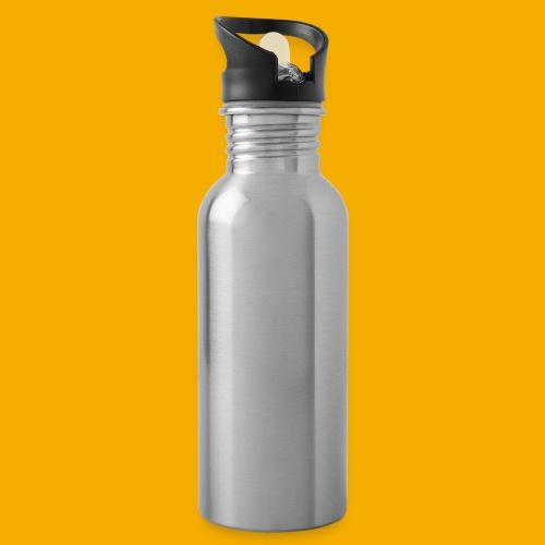 bmtnr wht 01 - Drinkfles met geïntegreerd rietje