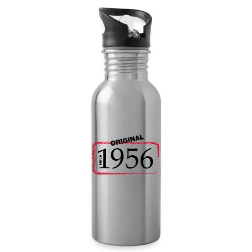 1956 - Trinkflasche mit integriertem Trinkhalm