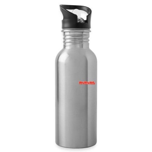 Remmen is angst accessoires - Drinkfles met geïntegreerd rietje
