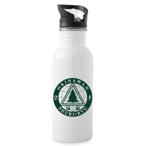 Klubmærke Traditionel placering - Drikkeflaske med integreret sugerør