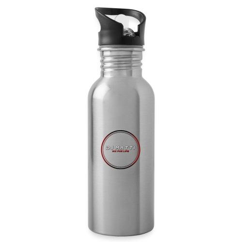 DJ Matti Official Merchandise - Water bottle with straw