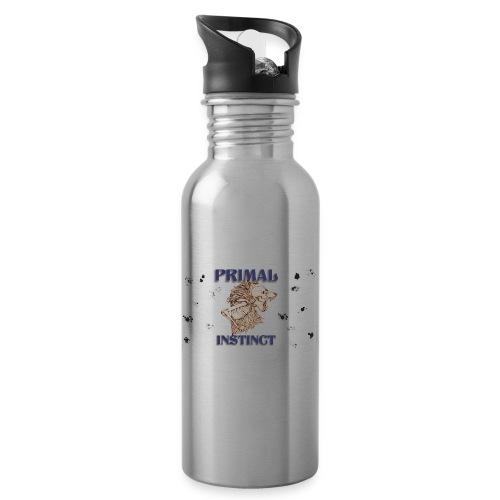 Instinto primitivo /primal instinct - Botella cantimplora con pajita integrada