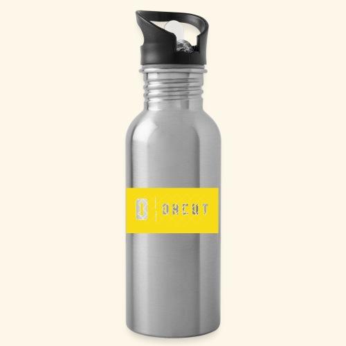 okcut - Botella cantimplora con pajita integrada