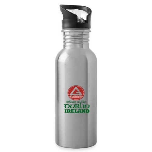 Gracie Barra Dublin Gaelic Celtic Font PNG - Water bottle with straw