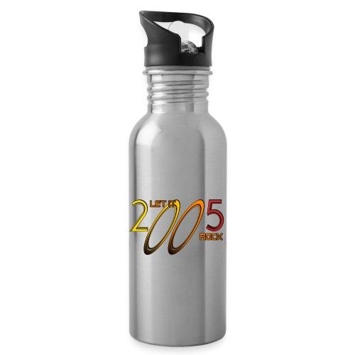 Let it Rock 2005 - Trinkflasche mit integriertem Trinkhalm
