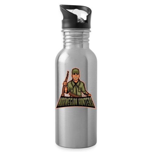 NORWEGIAN HUNTERS - Drikkeflaske med integrert sugerør