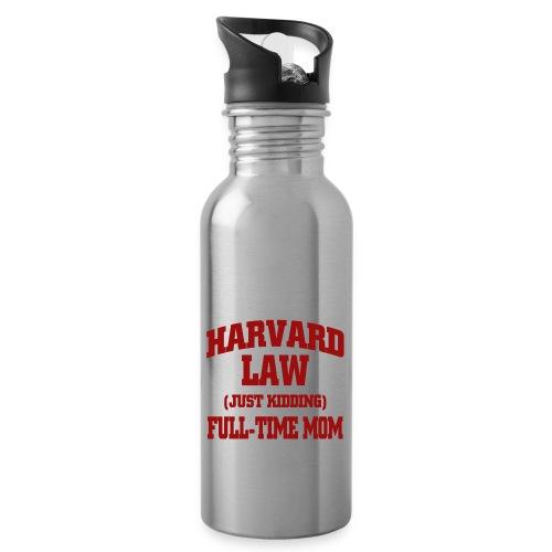 harvard law just kidding - Bidon z wbudowaną słomką