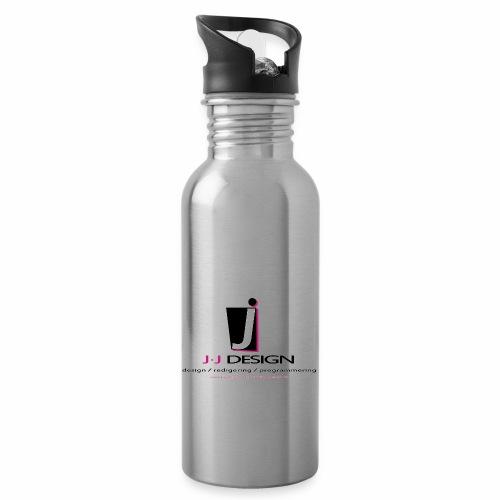LOGO_J-J_DESIGN_FULL_for_ - Drikkeflaske med integreret sugerør