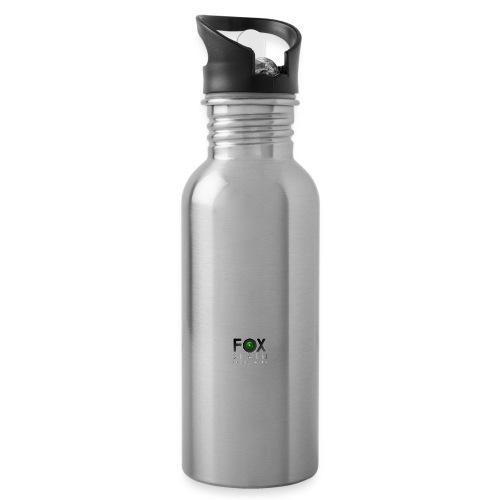 Solo logo Foxspain - Botella cantimplora con pajita integrada
