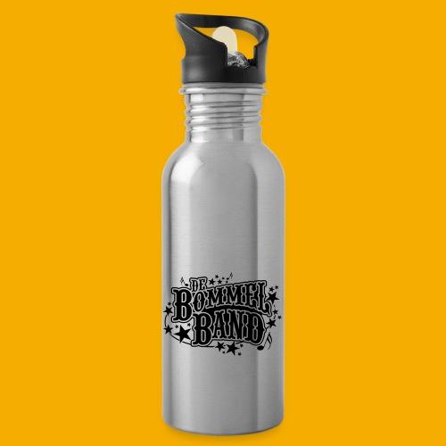 bb logo - Drinkfles met geïntegreerd rietje