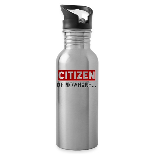 Citizen Of Nowhere 3 - Water bottle with straw