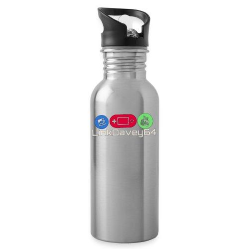 LinkDavey64 - Drinkfles met geïntegreerd rietje