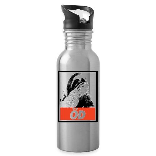 Öd - Trinkflasche mit integriertem Trinkhalm