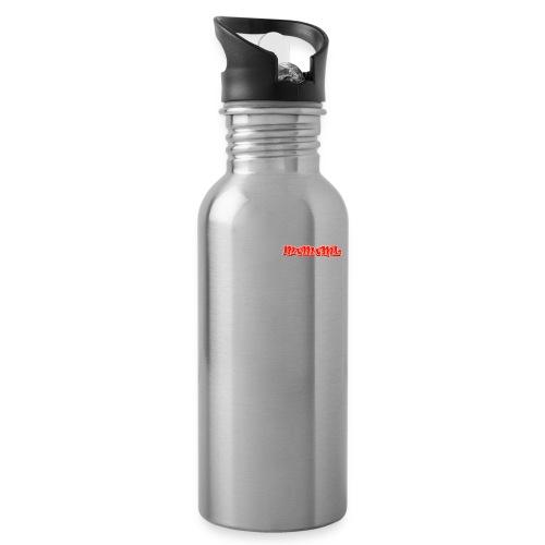 Braking is fear accessories - Drinkfles met geïntegreerd rietje