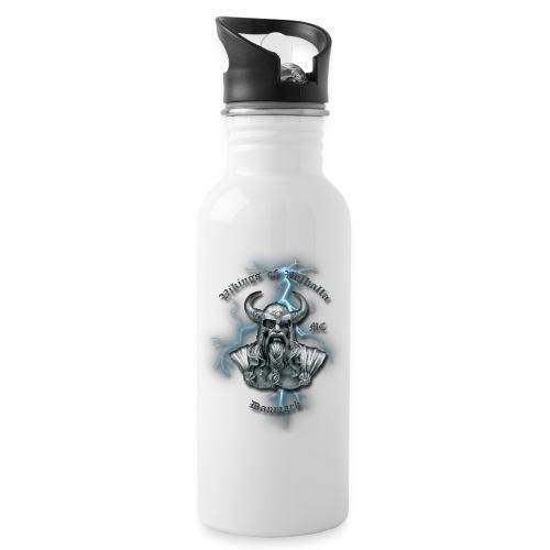 Fuld ryg lyn png - Drikkeflaske med integreret sugerør
