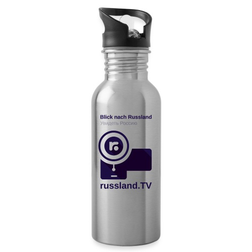 russland.TV Kameraleute-Outfit - Water bottle with straw