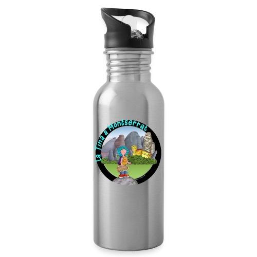 Tina Montserrat 4 - Botella cantimplora con pajita integrada
