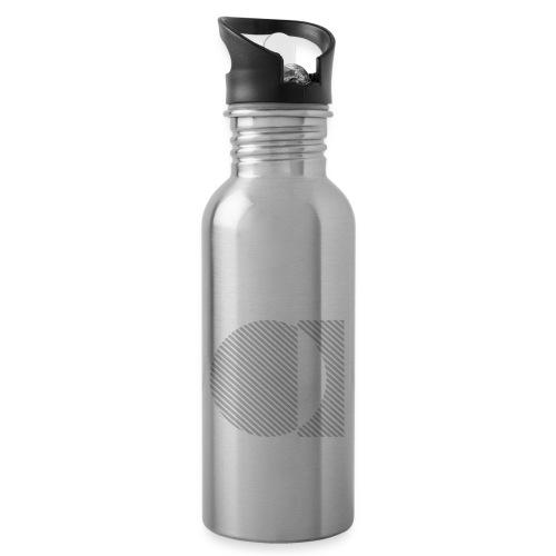 Bauhaus Jazz - Botella cantimplora con pajita integrada