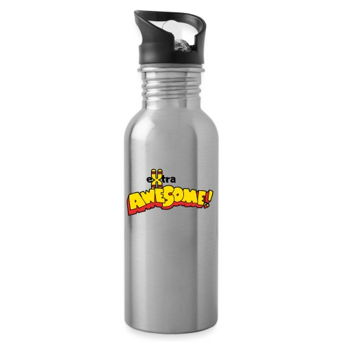 eXtra Awesome Down's Syndrome Tee - Water bottle with straw
