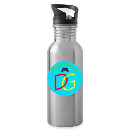 Dude Gaming - Drikkeflaske med integreret sugerør