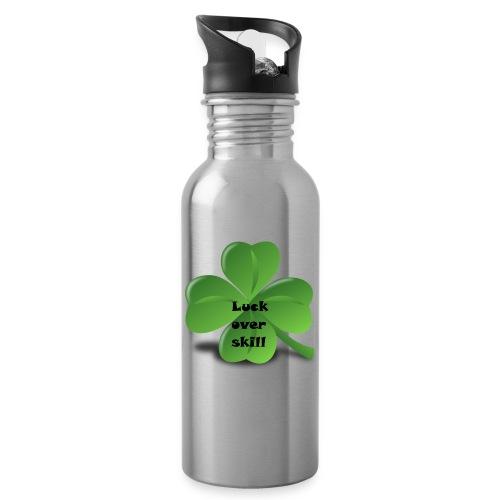 Luck over skill - Drikkeflaske med integrert sugerør
