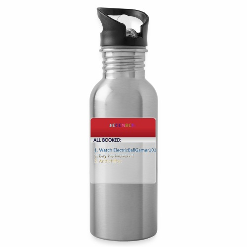 Calender copy - Water bottle with straw