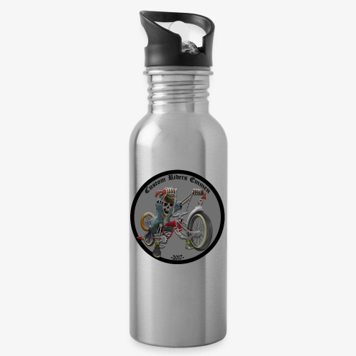 Custom Riders Emmen - Drinkfles met geïntegreerd rietje