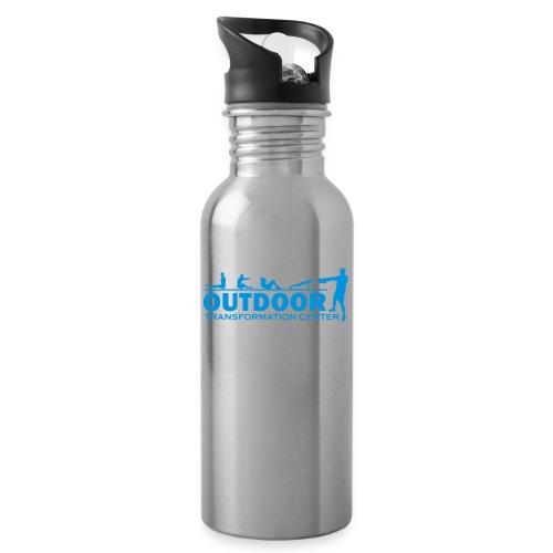 OTC Large Logo - Water bottle with straw