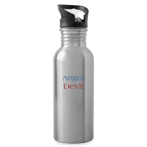 Angelo o Diavolo? - Borraccia con cannuccia integrata