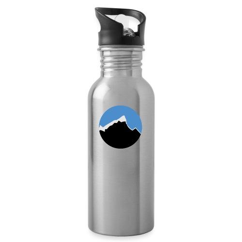 FjellTid - Drikkeflaske med integrert sugerør