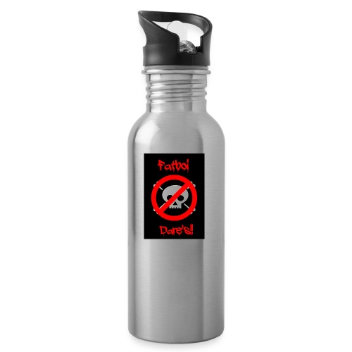 Fatboi Dares's logo - Water bottle with straw
