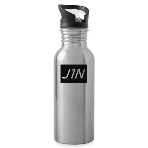 J1N - Water bottle with straw