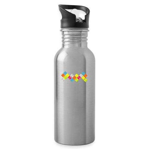 x-five - Drinkfles met geïntegreerd rietje
