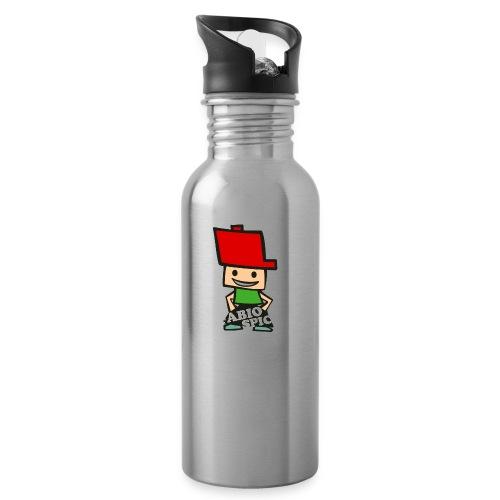 Fabio Spick - Trinkflasche mit integriertem Trinkhalm