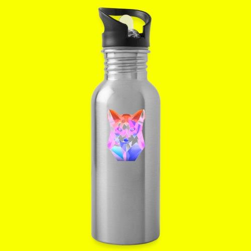 Nemirion Logo - Drinkfles met geïntegreerd rietje