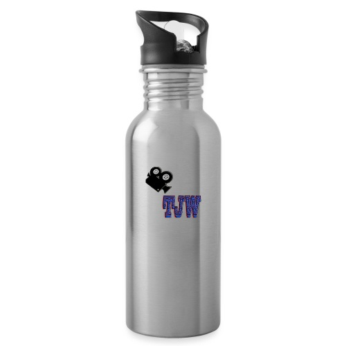 tjw - Water bottle with straw