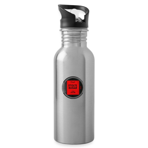 STOLTEBUGAR - Drikkeflaske med integrert sugerør