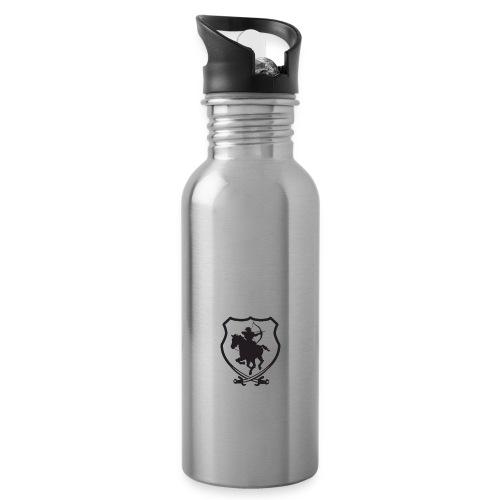Nomadencamp - Trinkflasche mit integriertem Trinkhalm