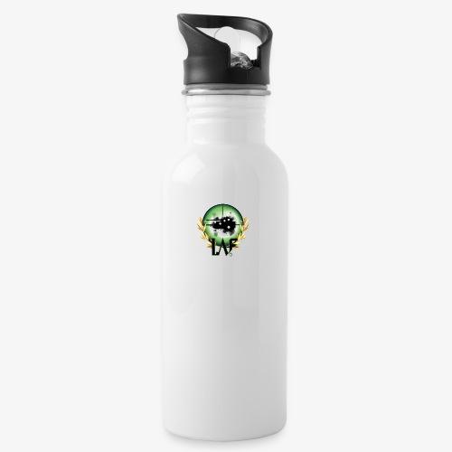 Load Aim Fire Merchandise - Drinkfles met geïntegreerd rietje