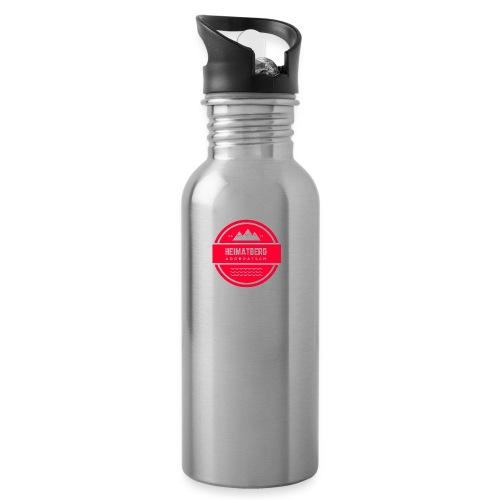 Dobratsch Accessouires - Trinkflasche mit integriertem Trinkhalm