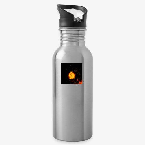 FIRE BEAST - Drinkfles met geïntegreerd rietje