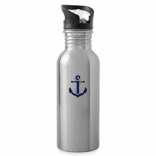 Anchor4 - Water bottle with straw