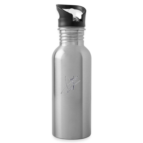 Tshirt - Water bottle with straw