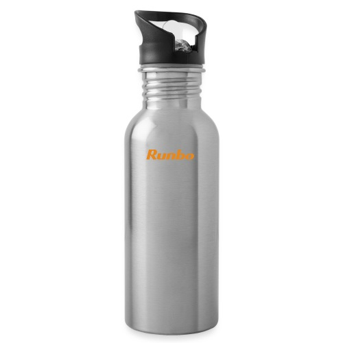 Runbo brand design - Water bottle with straw