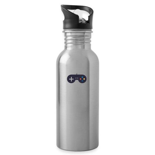 Controller - Trinkflasche mit integriertem Trinkhalm