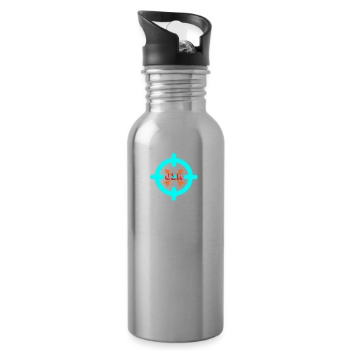 Targeted - Water bottle with straw